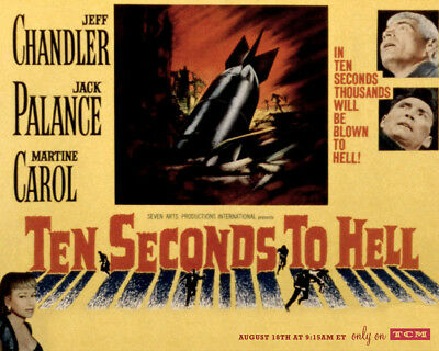 ten seconds to hell 1959 dvd