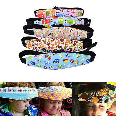 Safety Kids Stroller Car Seat Sleep Nap Aid Head Fasten Support Holder Belt TK
