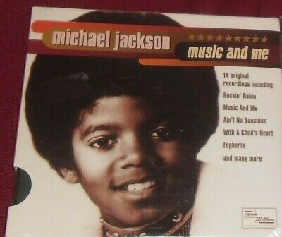 1 CD MUSICA VINTAGE CHILDREN MICHAEL JACKSON BAMBINO-MUSIC AND ME child king pop
