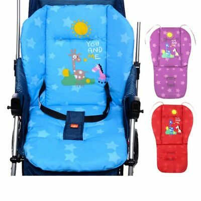 Baby Stroller Seat Cushion Liner Pram Padding Crawl Pushchair Mats Cover Seat