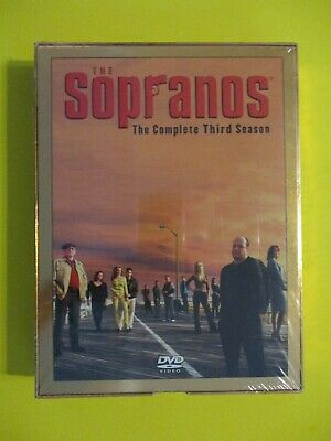The Sopranos - The Complete Third Season DVD Gangster Mafia New Sealed