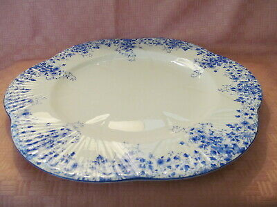 "Shelley Bone China, England, Dainty Blue Pattern 10.75"" Dinner Plate(S)"