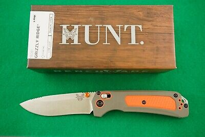 Benchmade 15061 Grizzly Ridge, Axis Lock, Cpm-S30V Knife, New In Box