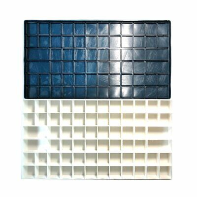 Large Plastic Palette Box w/ Soft Cover for Watercolor Acrylic Paints (68-Well)
