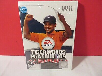 Tiger Woods Pga Tour 09: All Play - Nintendo Wii - Brand New Sealed