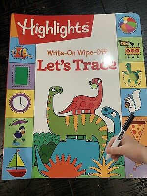 Highlights(TM) Write-On Wipe-off Fun to Learn Let's Trace