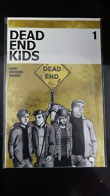 Dead End Kids #1 First Printing Sold Out Hot Comic Nm Source Point Press.