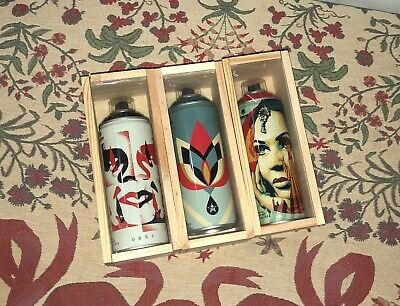 Obey Shepard Fairey x Montana Spray Can Set Beyond The Street Limited Edition
