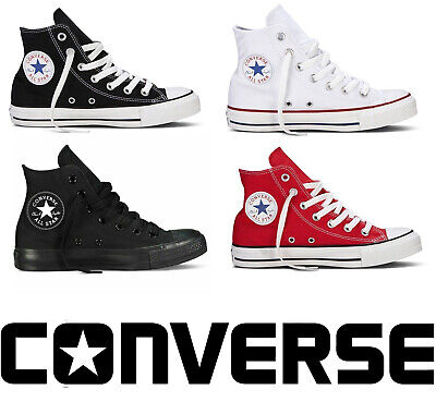 Converse All Star Mens Womens High Top Canvas Shoe Unisex Chuck Taylor Trainers