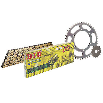 DID Upgrade Chain & Sprocket Kit Suitable for Yamaha XT660Z Tenere 2015