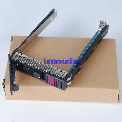 "New 2.5"" G10 SAS/SATA Tray Caddy SFF For HP DL360 G10 Server"