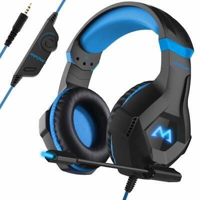 Mpow EG9 RGB Gaming Headset, Stereo Surround Sound Headphone Mic for PC/PS4/Xbox