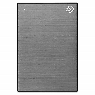 Seagate Backup Plus Slim  Space Gray Hdd 2 Tb Portable External Hard Disk New Au