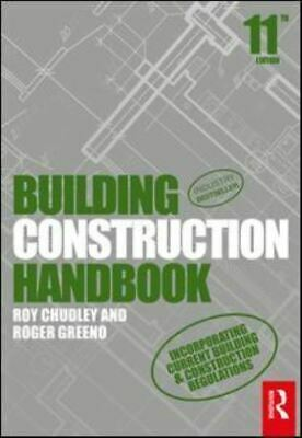 Building construction handbook by Roy Chudley (Paperback / softback) Great Value