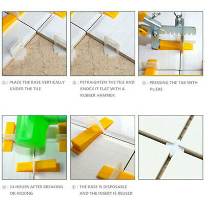 oy Tile leveling system wall & floor spacers for 1/1.5/2/3mm minimum grout joint