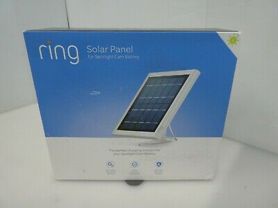 Ring Solar Panel Compatible with Ring Spotlight Cam Battery StickUp  8ASPS7-WEN0