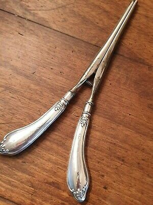 antique sterling silver handle GLOVE STRETCHER