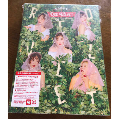 Red Velvet [SAPPY] First Limited Edition CD Booklet Japan F/S