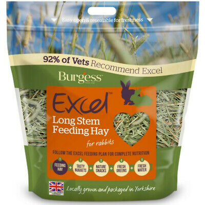 Burgess Excel heno tallo largo 1Kg