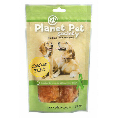 Planet Pet Snack Filetes de Pollo 100gr