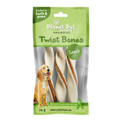 Planet Pet Rollito Dental Cordero 3uds. 70gr
