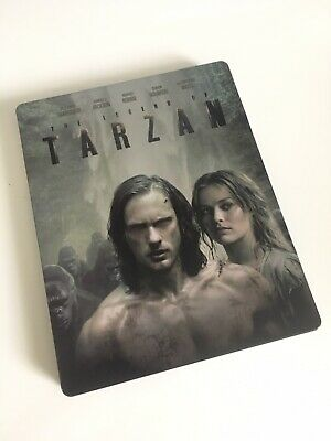 The Legend of Tarzan BLU-RAY STEELBOOK