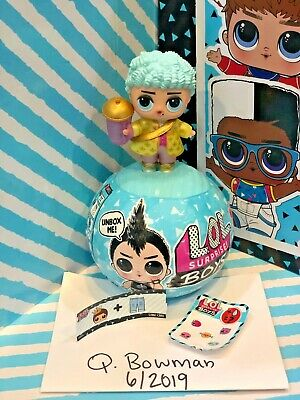 LOL Surprise Doll BOYS Series 1 HIS ROYAL HIGH NEY NEW BALL 2 BAG