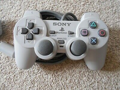 PS1 Official DUAL ANALOG Controller VERY RARE Sony Playstation  FREE UK P&P