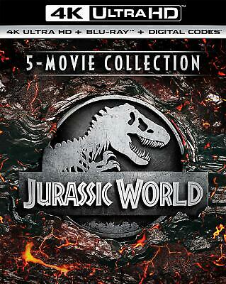 Jurassic World 5-Movie Collection 4K Ultra HD + Blu-ray + Digital PREORDER 09
