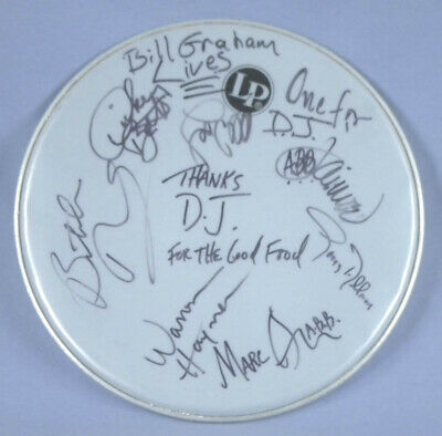 The Allman Brothers Band - Drumhead Signed With Co-Signers