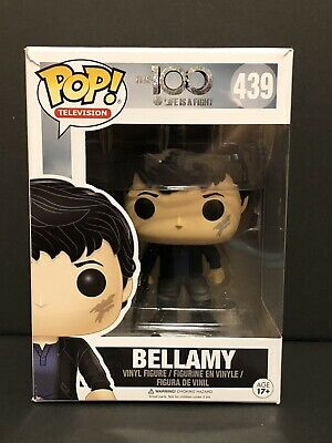 Funko Pop! Television~The 100 (Life Is A Fight) Bellamy #439~Vinyl Figure