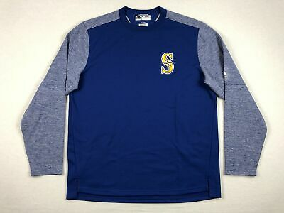 Majestic Seattle Mariners - Blue Pullover (Multiple Sizes) - Used