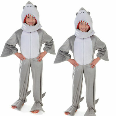 Deluxe Adulte Shark Attack Costume Animal Unisexe Mâchoires Poisson Fancy Dress Outfit