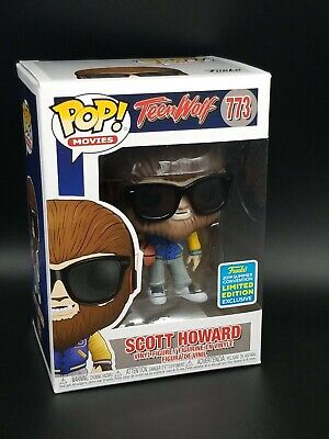 Funko Pop 2019 Teen Wolf Scott Howard #773 SDCC SHARED EXCLUSIVE Free Soft Case
