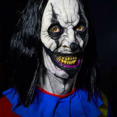 Life Size Animated CRAZY CLOWN Frightronics HALLOWEEN PROP Haunted House Outdoor