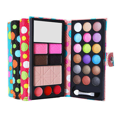 Cosmetics Pearl Eyeshadow Palette Natural 26 Colors Makeup girls +quality