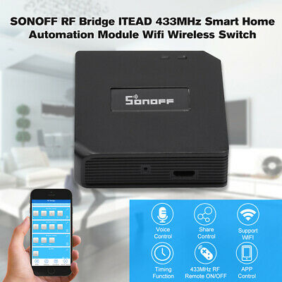 SONOFF RF Bridge ITEAD Home Switch Module Wifi Switch Timer Google Home K3D3