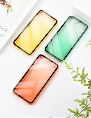Shockproof Hybrid Tough Cover For Apple iPhone XS Max XR 7 8 6S Plus Glass Case