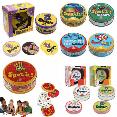 Spot It Dobble Find It Board Card Game For Family Gathering Xmas Party Gift Hot