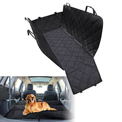 Waterproof Seat Cover Hammock Protector Car SUV Truck Back Rear For Dog Pet
