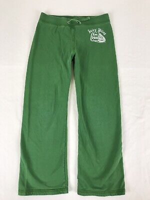 JUICY COUTURE Pants Girl's Size 6 Green Drawstring Waist Straight Leg~A28