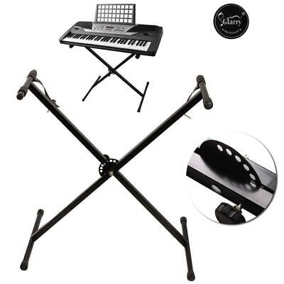 Glarry Keyboard Piano X Stand Electric Organ Rack Metal Height Adjustable
