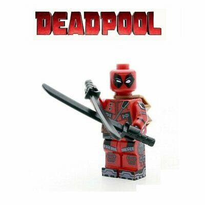 Figurine personnage Deadpool 2 Super Héros mini figurine + armes