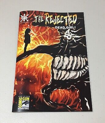 The Rejected Dead Girl SDCC San Diego Comic Con variant Source Point Press