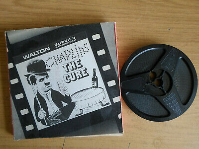 Super 8mm silent 1X200 THE CURE. Charlie Chaplin classic comedy.