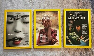 National Geographic Magazines, July/August/Sept 1987 (Volume 172 No. 1/2/3)