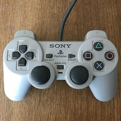 Sony Playstation 2 Controller Official Grey Dualshock Controller For PS1/PS2
