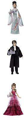 Harry Potter Yule Ball Hermione, Harry, Cho Chang, Ron Weasley Doll