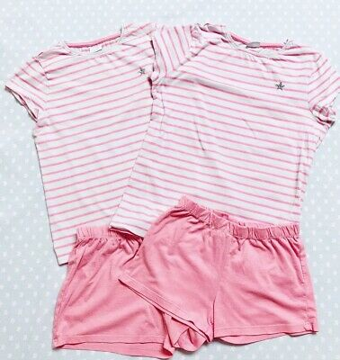 2 Pairs of Florence & Fred Summer Short Pyjamas. Age 9-10 & 10-11