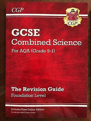 CGP GCSE Combined Science for AQA Grade 9-1 Revision Guide (Trilogy) Foundation